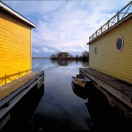 Yellow Boathouses